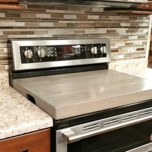 Wood Gas Stove Cover