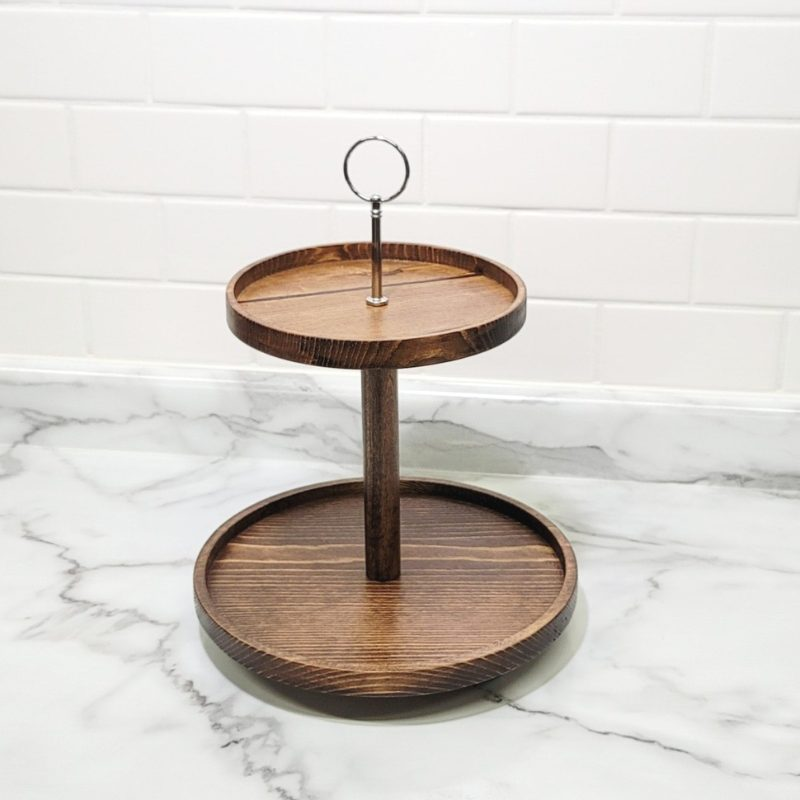 Two-Tiered Tray Stand- Main