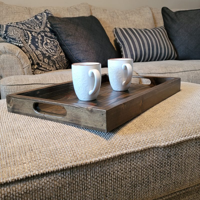 Serving Tray- Jacobean w- notched Main